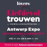 Liefdevol trouwen in Antwerpen.