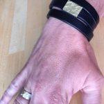 Ring en armband in palladium en oud goud van de klant door Hein Vera
