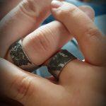 Ringen in edelstaal met hun dierbare poes HeinVera