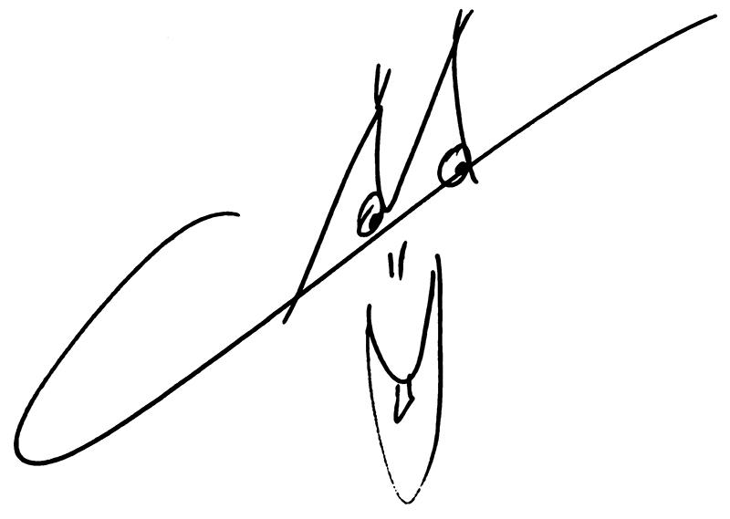 Bewerkte tekening