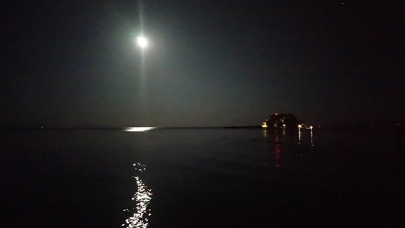 Foto 2 eiland 's nachts
