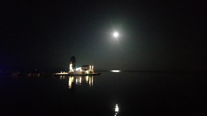 Eiland 's nachts