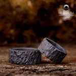 Brute ringen in zwart tantaal_heinvera