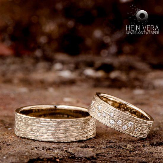 Trouwringen in witgoud met diamantjes_heinvera